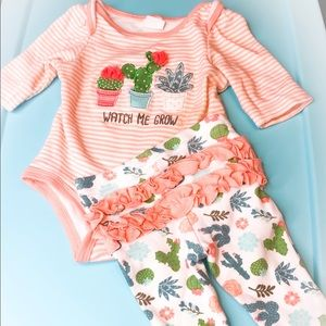 Starting Out Matching Sets - Two piece set baby onesies